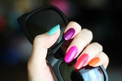 Neon Nails (Katya Zoom) Tags: china art nail nails glaze orly