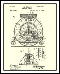 1894 - 1895  MOTOR VEHICLE by J. J. Kulage -  St. Louis, Missouri Patent (No Model) No. 573334  Dec. 25, 1896 (carlylehold) Tags: street opportunity history robert saint st mobile j louis victorian stlouis email here mo smartphone missouri join vehicle motor stories tmobile happens keeper patent 1895 1894 1896 signup haefner carlylehold kulage solavei haefnerwirelessgmailcom