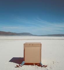 The Box (DanielMorcos) Tags: africa sky beach town box daniel south cardboard cape creature morcos danielmorcos