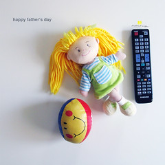 happy fathers day_betuldonmez (betdonmez) Tags: illustration toy photography tv father objects fathersday happyfathersday