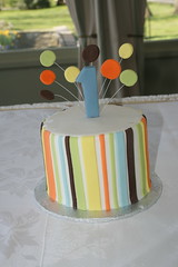 Smash Cake (irresistibledesserts) Tags: birthday balloons 1 smash first colored coloured multi