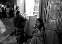 Thought (Life in Frozen Frames) Tags: street people girl night thought calcutta lifeinfrozenframes reemagill tamaghnasarkar 20140315dsc6847