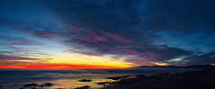 Christchurch: New Brighton Sunrise (Falcdragon) Tags: new morning light newzealand christchurch cloud colour sunrise spectacular dawn march brighton colours canterbury a7 ilce7