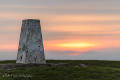 Sunset over Uffington Castle (MFranksPhoto) Tags: sunset nikon lee filters whitehorse canola uffington d600 leefilters