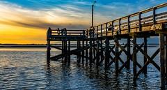 Golden moments (Images by Christie  Happy Clicks for 2016!) Tags: sunset nikon dusk surrey crescentbeach bluehour goldenhour blackiespitpark vancouverphotowalk