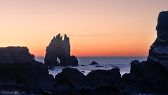 Portizuelo (demianastur) Tags: espaa atardecer mar spain nikon asturias roca luarca portizuelo d3200