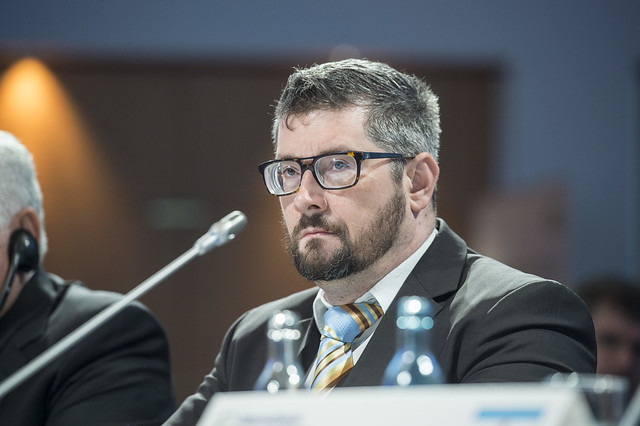 Markus Radl at the Closed Ministerial Session