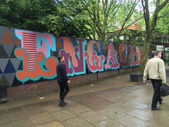Engaging street art (Matt From London) Tags: streetart oldstreet eine engaging