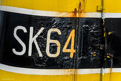 paint job (Igo Pieters) Tags: old black yellow paint 64 number sk job