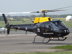 ZJ273 AS350 Helicopter (Aircaft @ Gloucestershire Airport By James) Tags: james airport gloucestershire helicopter lloyds as350 egbj zj273