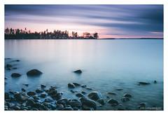 Motala (fotografmotala@gmail.com) Tags: longexposure sunset landscape sweden motala