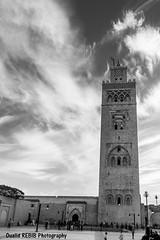 Minaret de la mosque Koutoubia (oualid.rebib) Tags: minaret islam mosque morocco maroc marrakech koutoubia mosque