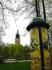 turku cathedral (harrypwt) Tags: park trees green church finland spring helsinki turku s90 harrypwt canons90