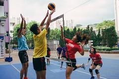 The Block (Alan P. in Hong Kong) Tags: sony a65 documentary hongkong city life volleyball