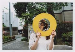 insta143 (sudoTakeshi) Tags: woman film sunglasses japan 35mm tokyo asahi pentax kodak ring spotmatic filmcamera portra  kodakfilm   pentaxsp filmcameras kodakportra      kodakportra160