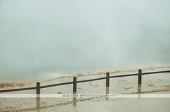 Champagne Pool - Wai-O-Tapu, Rotorua (Naomi Rahim (thanks for 4 million visits)) Tags: rotorua newzealand nz northisland waiotapu geothermal hotspring travel travelphotography thermalwonderland sulphur steam pool lake water nikon nikond7000 waiotaputhermalwonderland champagnepool fog fence