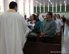 26_jun 2016 BatismoNaMatriz (125) (Paroquia So Benedito/Bauru) Tags: batismo matriz sobenedito crepaldi sacramento 2016
