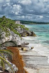 MEXICO - Tulum - Quintana Roo (Infinita Highway!) Tags: ocean sea praia beach nature water america mexico highway sony central tulum playa alpha infinita spiagia