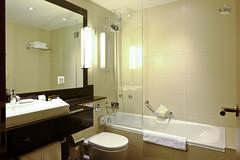 Bathroom with tub (A. Wee) Tags: bathroom hotel switzerland zurich bathtub suite sheraton    neuesschloss
