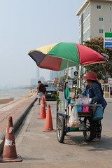 Jomtien Beach (g e r a r d v o n k ) Tags: artcityart art asia asia asian beach canon city colour expression eos earthasia fantastic flickraward lifestyle ngc newacademy outdoor totallythailand photos people reflection red stad street this travel thailand thai unlimited uit urban umbrella vendor vehicle whereisthis where yabbadabbadoo