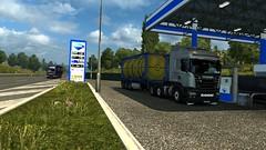 Preparations to enter London (EduardoCBS) Tags: scania streamline highline r520 520 ets2 euro truck simulator 2 rjl norwegen norway road vlog diary caminhão viagem diário documentário