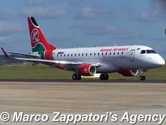 Embraer E-175 (E-170-200/LR) (Marco Zappatori's Agency) Tags: embraer e175 kenyaairways ptsfg 5ykyh marcozappatorisagency