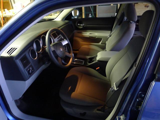 interior dodge magnum 2007 sxt