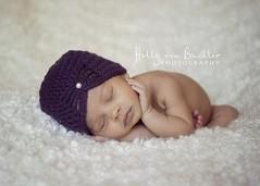 Butterfly Beanie Plum 2 (twystedyarn) Tags: hat ooak crochet pixie yarn owl newbie beanie handspun bonnets noggins
