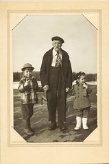 62 Years Ago Today, 'Grandpa' Holt and Helpers, April 1st 1951 -- Reposting (JFGryphon) Tags: dummer newhampshire 1951 easterweek