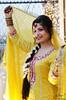 Shooting stars (Ubaid Ullah Ahmed) Tags: yellow bride bokeh mehndi weddingphotography bridalshoot asianweddings pakistanibrides