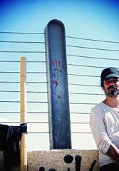 The marking on the wall. (ADIDA FALLEN ANGEL) Tags: friends people art israel photo nikon zooz d40