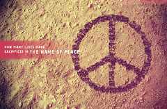 Peace (Death_Extrication) Tags: life people death skull design peace earth name soil