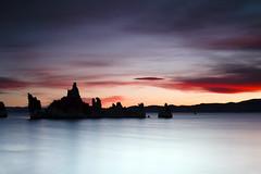 Mono Lake (Dan. D.) Tags: california bw white mountain lake snow black reflection dan water canon landscape mono long exposure adams exposition 5d convict mkii ansel desroches