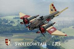 Swallowtail (ted @ndes) Tags: bird airplane lego aircraft military system swallow moc skyfi dieselpunk dieselpulp