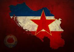 Bila jednom jedna zemlja (Sareni) Tags: red art texture ex colors photoshop artwork flag grunge country ps communism tito yu yugoslavia 2012 mart twop jugoslavija sfrj sfry sareni bilajednomjednazemlja