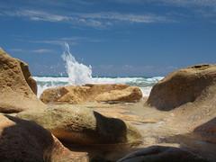 Incoming: Blowing Rocks Nature Preserve Jupiter Island Florida