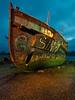 Sink - Ships Graveyard (trevager) Tags: lightpainting boat ship sink nightshoot shore lowtide sunk wreck gosport lightpaint hicc shipsgraveyard afszoomnikkor2470mmf28ged
