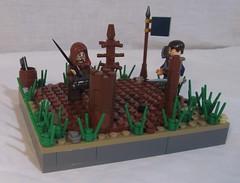 LCC CIC 2 (Daken the Bladesmith) Tags: lego medieval brickarms brickforge