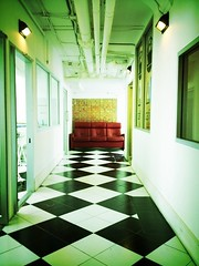 The isle. (wachararwish) Tags: art fashion architecture vintage photography design artist furniture designer path interior retro walkway capture effect isle italiana iphone accademia accademiaitaliana iphoneography swankolab
