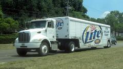 J. J. Taylor Peterbilt / Miller Lite Mickey Beverage Trailer (FormerWMDriver) Tags: tractor beer truck lite big drink beverage mickey semi miller rig trailer peterbilt jjtaylor