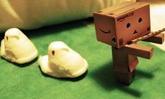 The Pied Peeper (ghostsecurity28) Tags: fun toy candy sweet creative story marshmallow imagine imagination peeps danbo revoltech danboard
