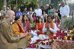 "Powerful rituals and Puja at the Annual Ma Ganga Yoga Shakti Retreat in India • <a style=""font-size:0.8em;"" href=""http://www.flickr.com/photos/80108875@N05/7176950111/"" target=""_blank"">View on Flickr</a>"