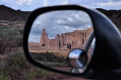 Fisher Towers Mirrored (Adrians Photos) Tags: utah moab archesnationalpark fishertowers