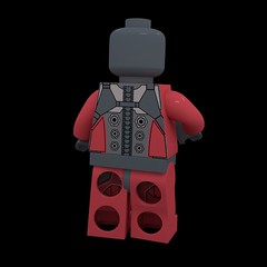 Bodysuit Back-Male (HJ Media Studios) Tags: brick digital toy soldier 3d fight cg model marine war lego space cartoon weapon scifi animation blender marines spacemarines block animated fi minifig stud sci cgi rigged minifigure cuusoo hjmediastudios