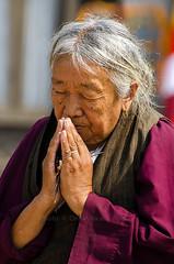 Prayers from the heart (yadavop) Tags: nepal portrait people nikon buddhist prayer religion culture buddhism monastery pilgrim opsphotos nikon70300mmvr d7000