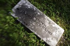 Unknown Confederate Soldier (John Mason.) Tags: cemetery soldier confederate unknown resaca