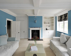 Blue & White Drawing Room (petehelme.co.uk) Tags: interiordesign drawingroom countryhouse countryliving interiorphotography realestatephotography moderninteriordesign d700 professionalinteriorphotography