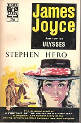 Stephen Hero (Covers etc) Tags: design ace paperback cover bookcover 1960s jamesjoyce