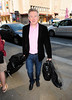Louis Walsh at his hotel in Liverpool the day before the 'X Factor' auditions begin Liverpool, England