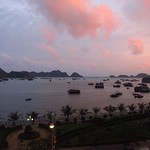 "Sunset over Cat Ba Harbor <a style=""margin-left:10px; font-size:0.8em;"" href=""http://www.flickr.com/photos/14315427@N00/7268290800/"" target=""_blank"">@flickr</a>"